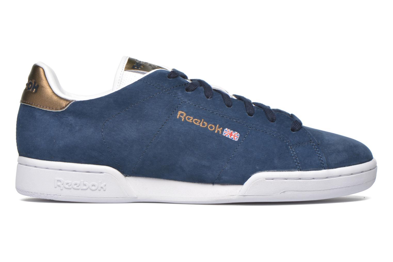 Baskets Reebok Npc II Met Bleu vue derrière
