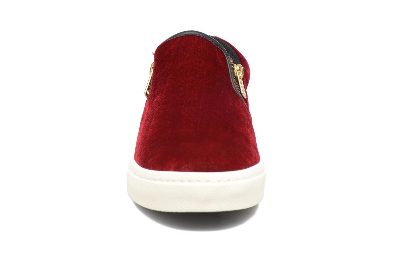 Sneaker Gioseppo Rolap weinrot schuhe getragen