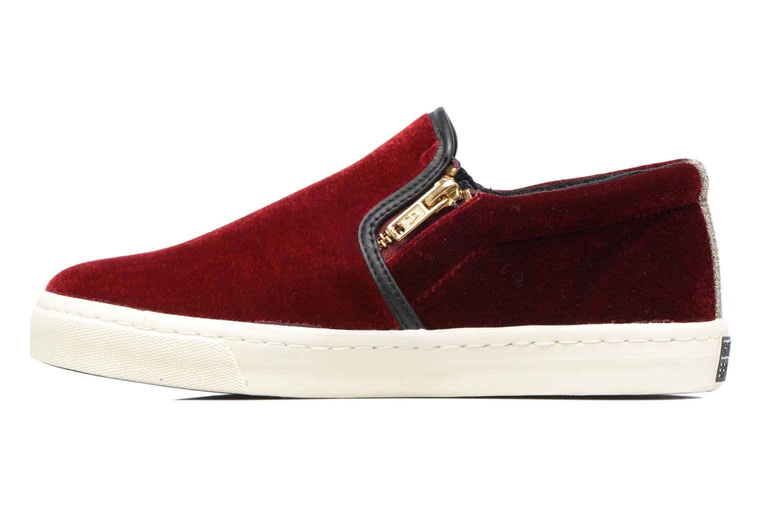 Rolap White/Burgundy