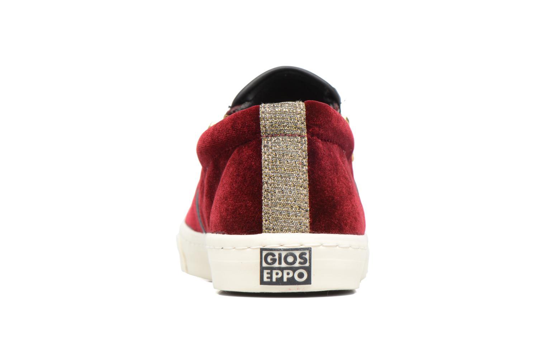 Sneaker Gioseppo Rolap weinrot ansicht von rechts