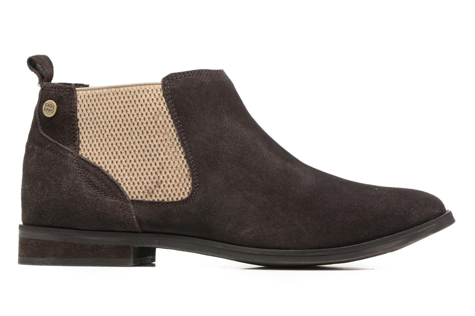 Ankle boots Gioseppo Kentucky Brown back view