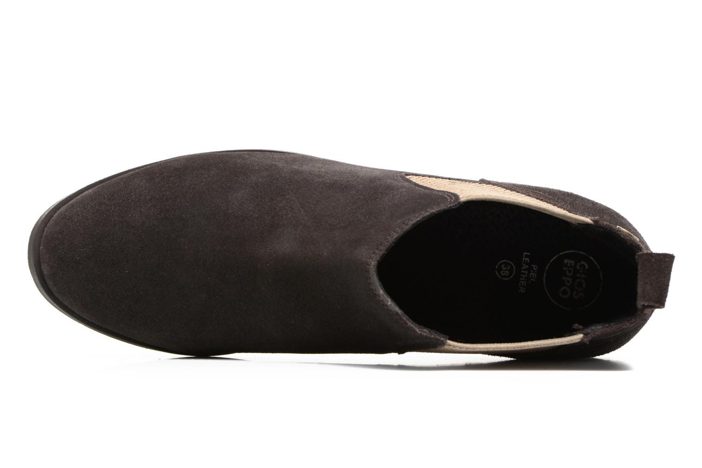 Bottines et boots Gioseppo Kentucky Marron vue gauche