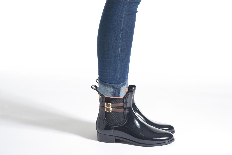 Bottines et boots Gioseppo Galvini Noir vue bas / vue portée sac