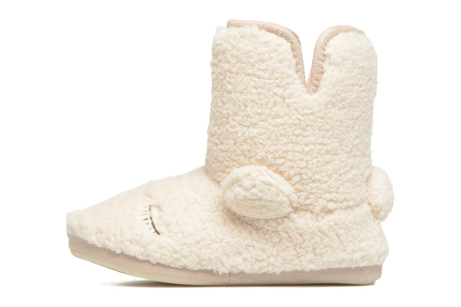 Chaussons Gioseppo Misina Beige vue face