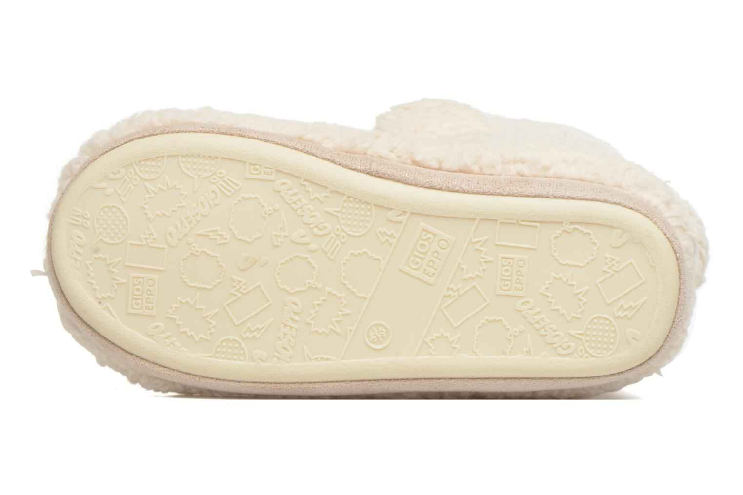 Slippers Gioseppo Misina Beige view from above