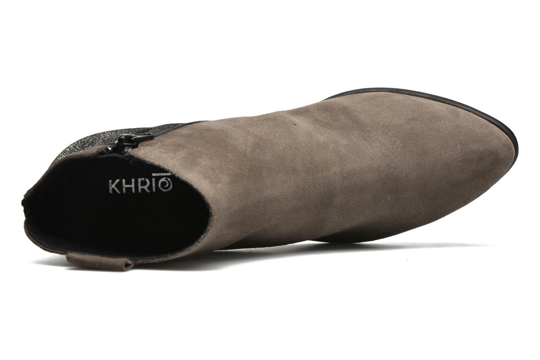 Boots en enkellaarsjes Khrio Julia Grijs links