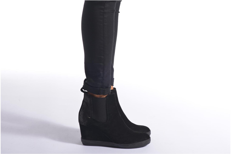 Bottines et boots Khrio Clara Noir vue bas / vue portée sac