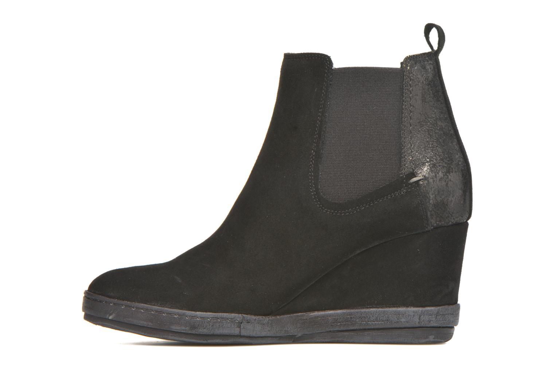 Bottines et boots Khrio Clara Noir vue face
