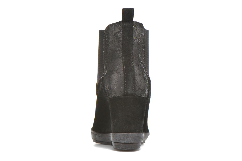 Bottines et boots Khrio Clara Noir vue droite