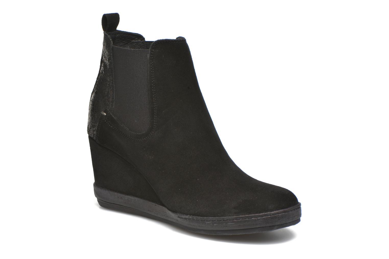Boots en enkellaarsjes Khrio Clara Zwart detail