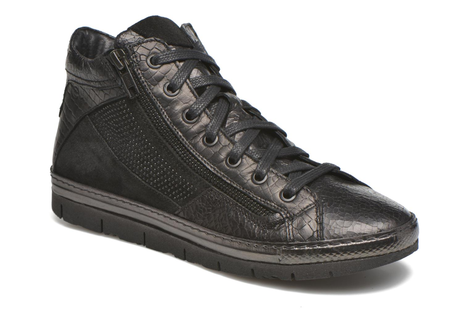 Trainers Khrio Paola Black detailed view/ Pair view