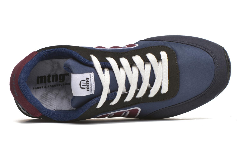 Baskets MTNG Jogger Bleu vue gauche
