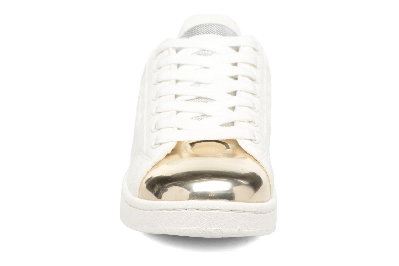 Baskets MTNG Agasi Or et bronze vue portées chaussures