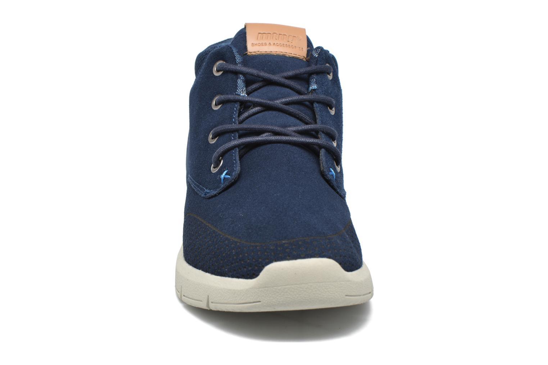 Baskets MTNG Kul Bleu vue portées chaussures