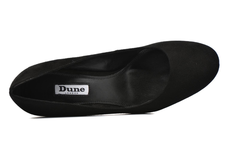 Zapatos de tacón Dune London Abelle Negro vista lateral izquierda
