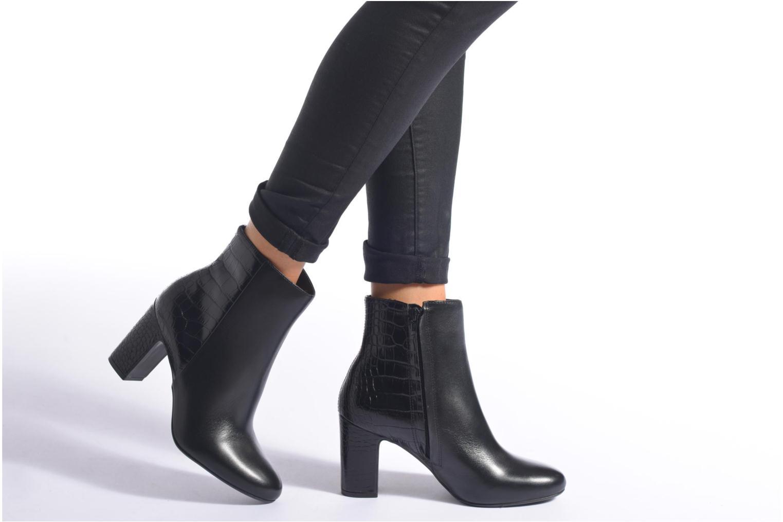 Boots en enkellaarsjes Dune London Opel Zwart onder