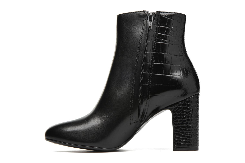 Opel Black leather / Croc