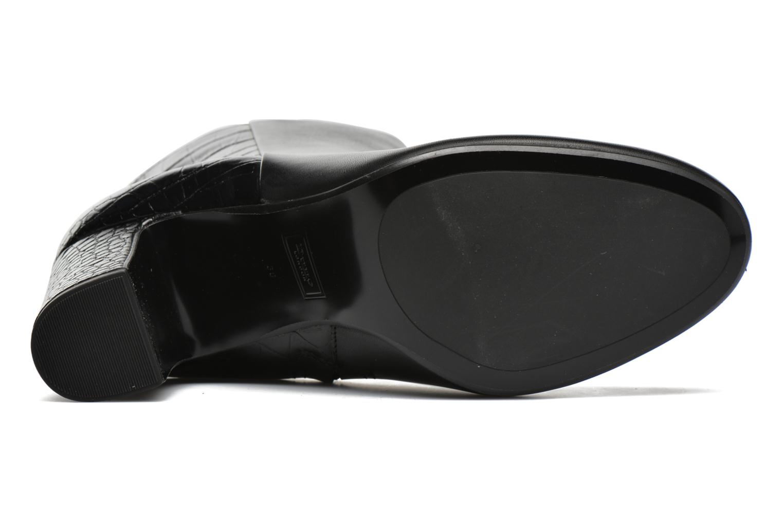 Bottines et boots Dune London Opel Noir vue haut
