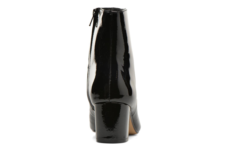 Bottines et boots Dune London Pebble Noir vue droite