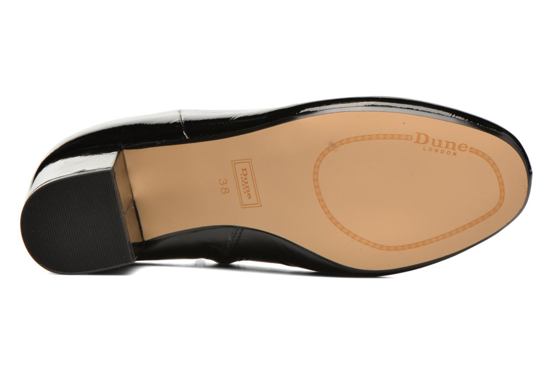 Dune Black Pebble leather patent London TwrPqT
