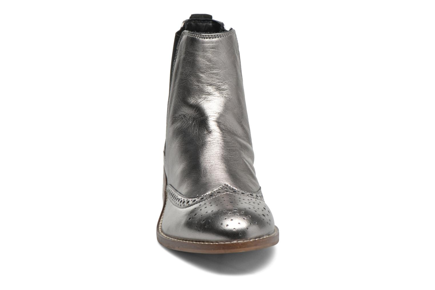 Ankle boots Dune London Quentin Silver model view