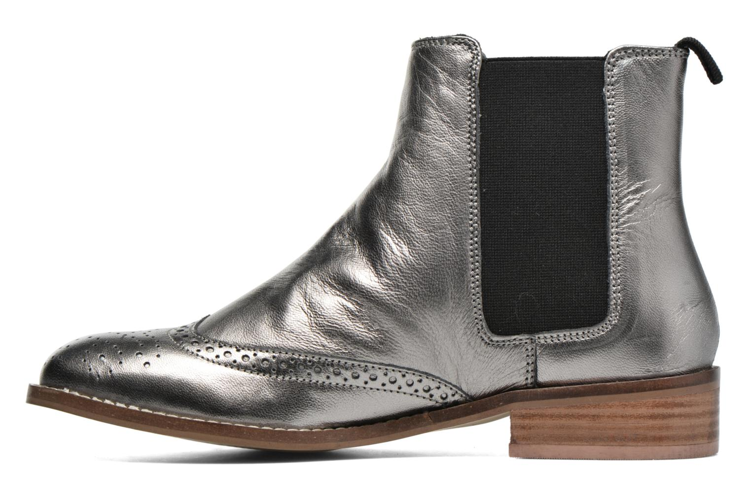 Ankle boots Dune London Quentin Silver front view