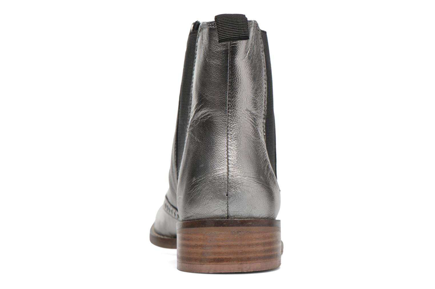 Ankle boots Dune London Quentin Silver view from the right
