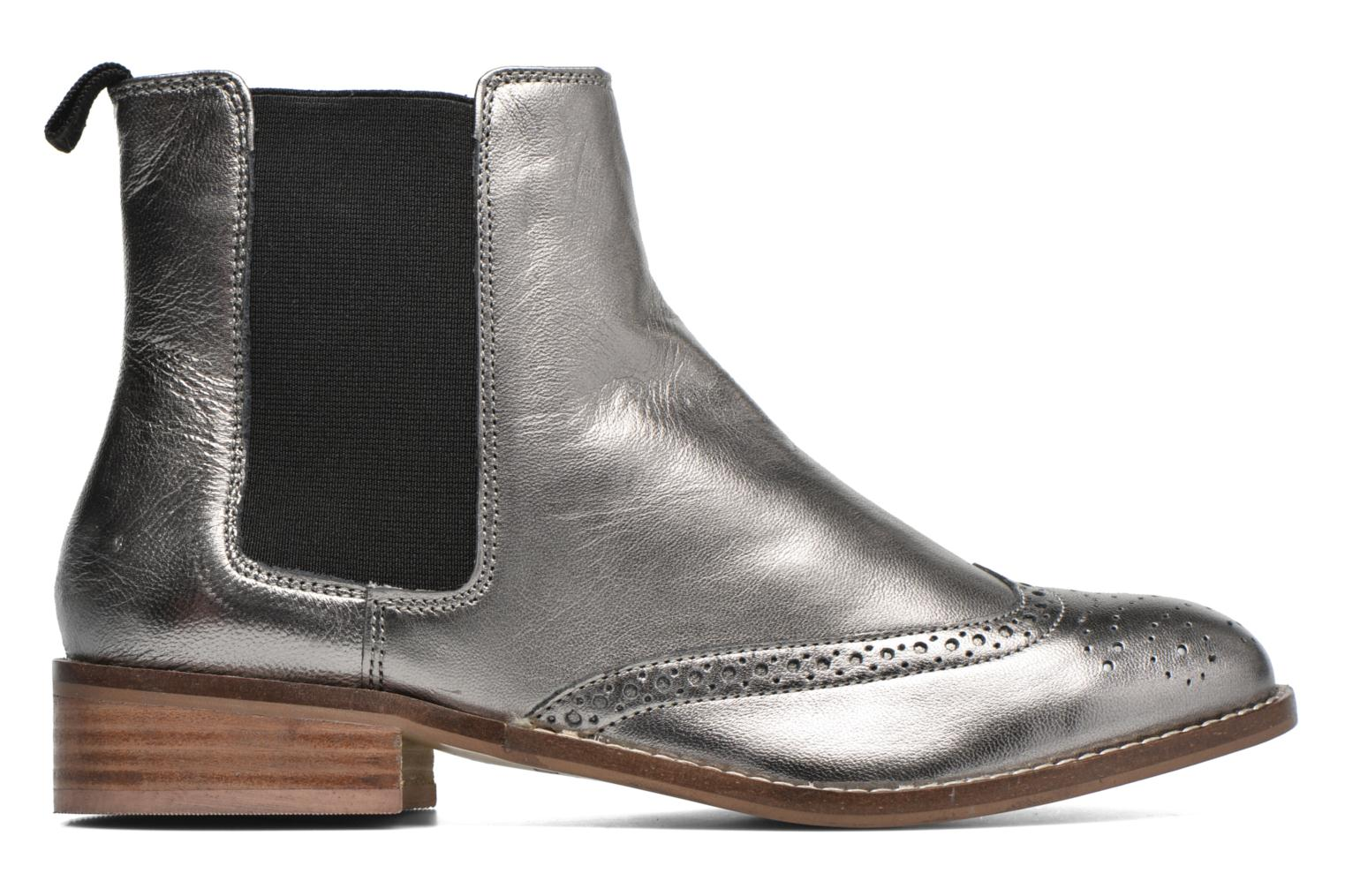 Ankle boots Dune London Quentin Silver back view