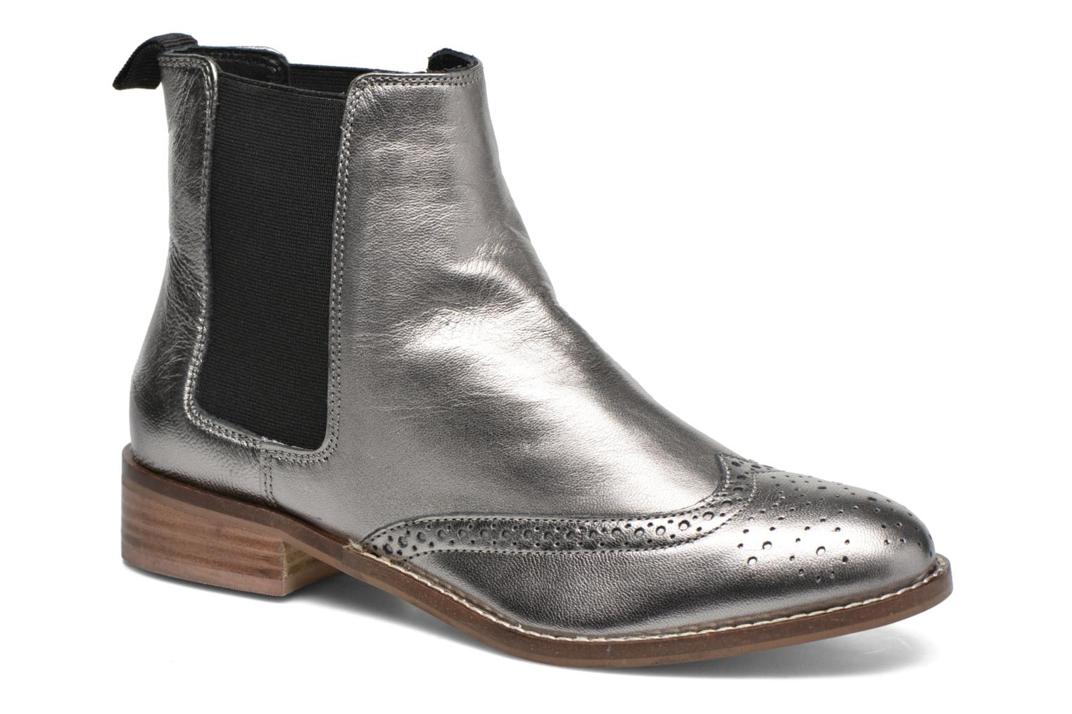 Ankle boots Dune London Quentin Silver detailed view/ Pair view