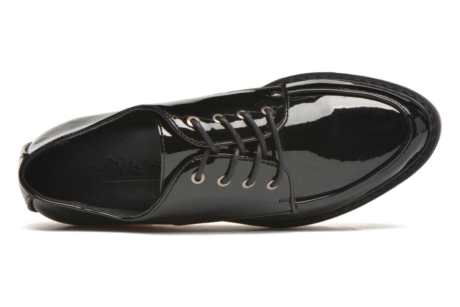 Lace-up shoes Sixty Seven Flora Black view from the left