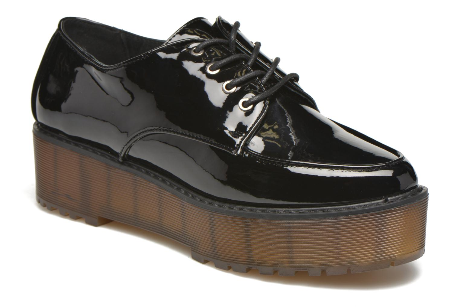 Lace-up shoes Sixty Seven Flora Black detailed view/ Pair view