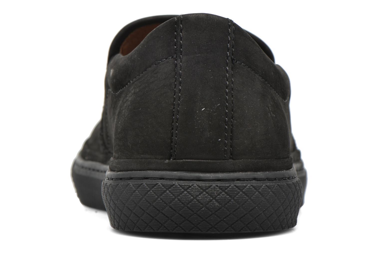 Baskets Frye Gates Slip Noir vue droite