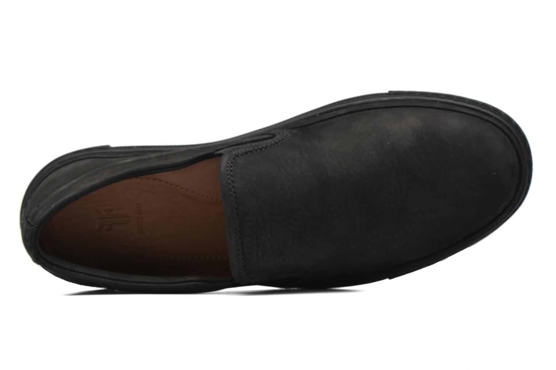 Baskets Frye Gates Slip Noir vue gauche