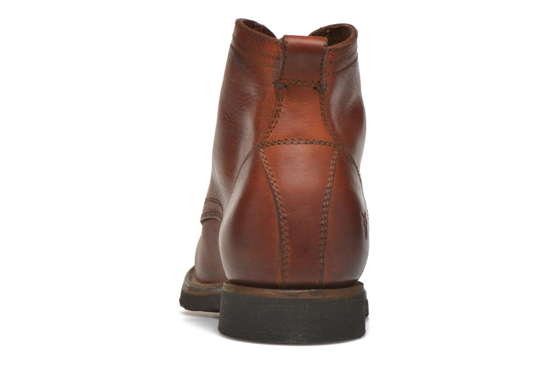 Bottines et boots Frye Roland Lace Up Marron vue droite