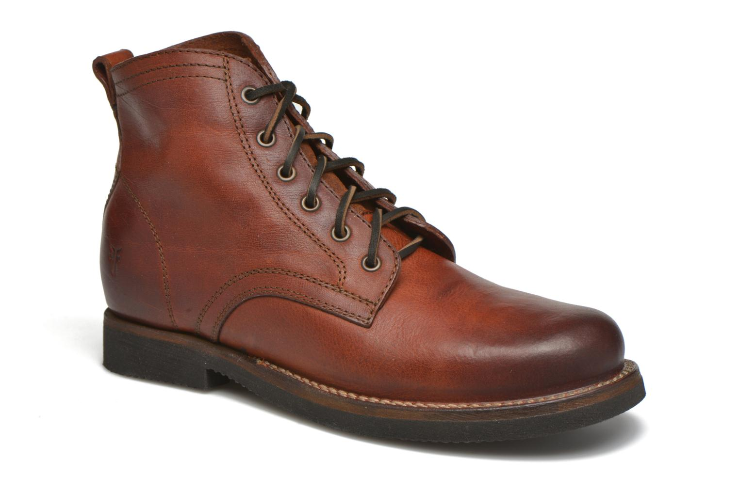 Roland Lace Up Redwood