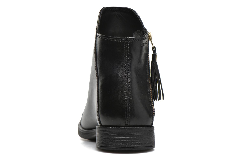Bottines et boots Geox J Agata C J5449C Noir vue droite