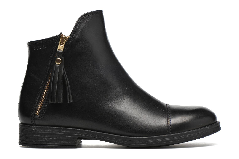Ankle boots Geox J Agata C J5449C Black back view