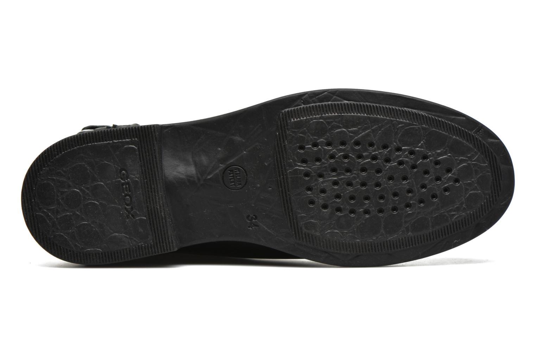 Bottines et boots Geox J Agata C J5449C Noir vue haut