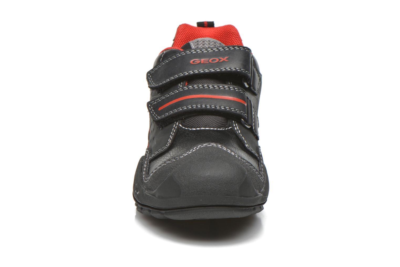 Velcro shoes Geox J N.Savage B.A J641VA Black model view