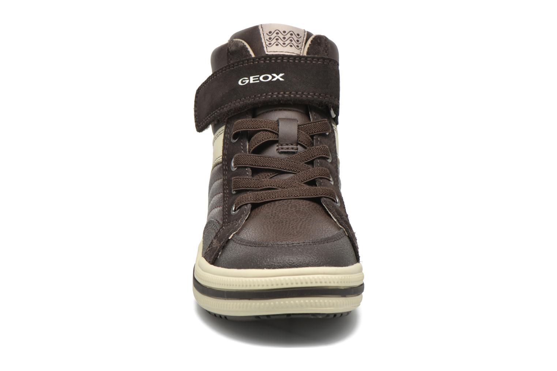 Sneaker Geox J Elvis A J64A4A braun schuhe getragen