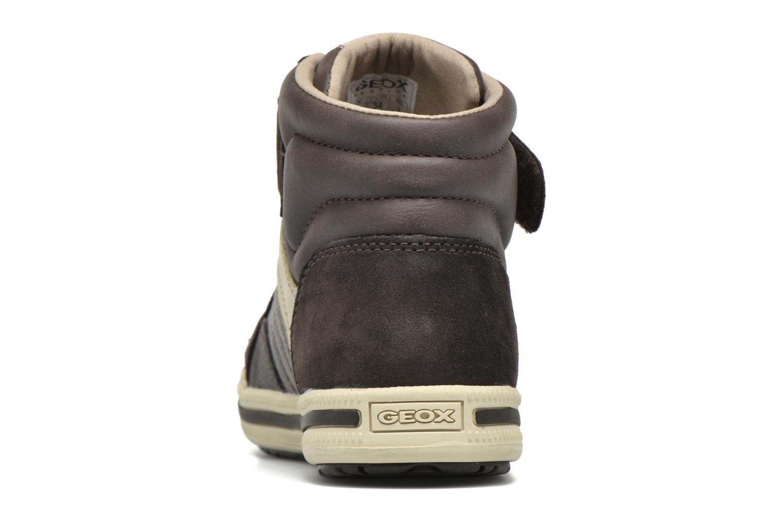 Sneaker Geox J Elvis A J64A4A braun ansicht von rechts
