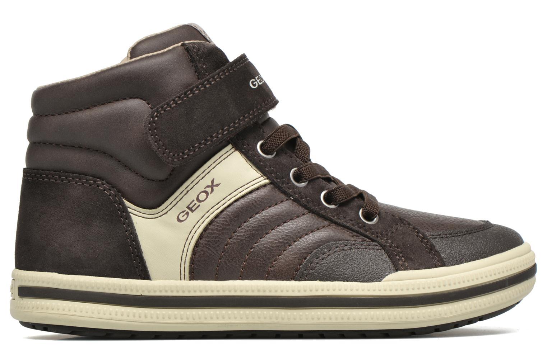Sneaker Geox J Elvis A J64A4A braun ansicht von hinten