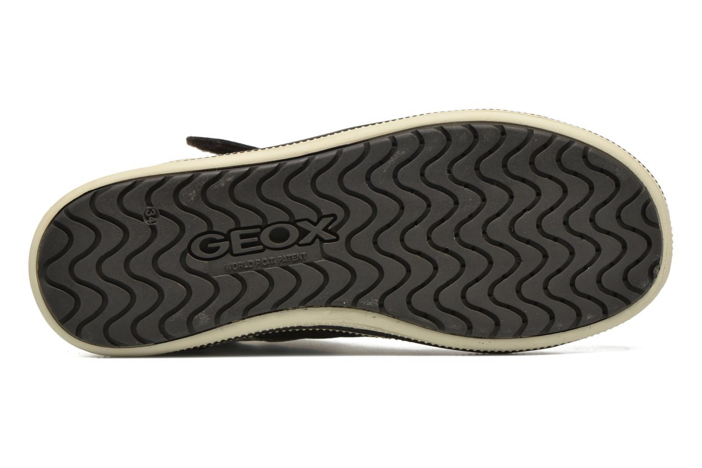 Sneaker Geox J Elvis A J64A4A braun ansicht von oben
