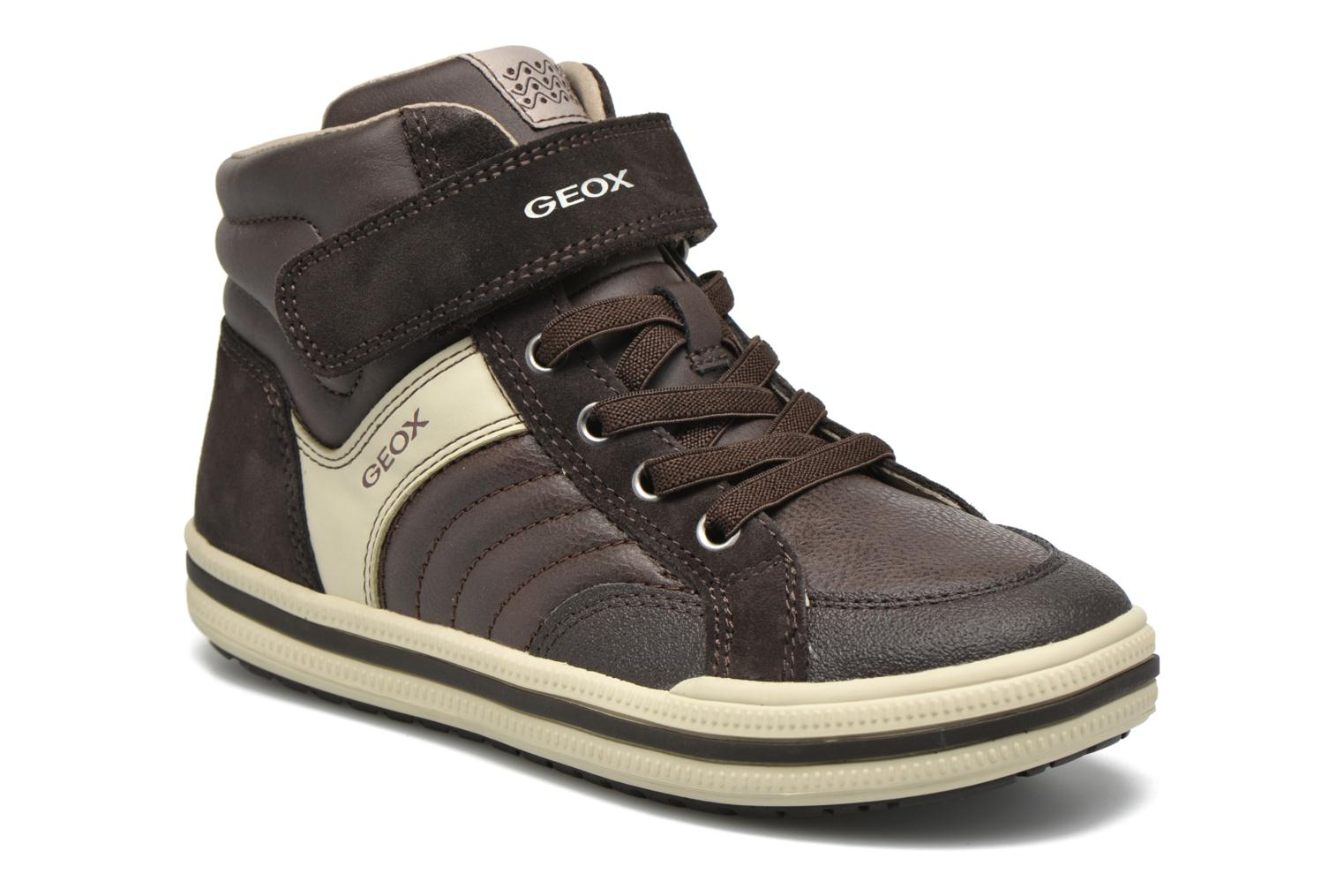 Baskets Geox J Elvis A J64A4A Marron vue détail/paire
