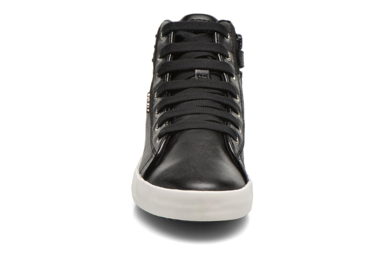 Baskets Geox J Kiwi G. C J64D5C Noir vue portées chaussures