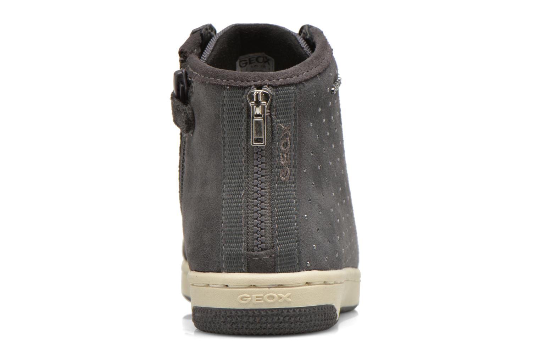 Sneaker Geox J Creamy A J64L5A grau ansicht von rechts