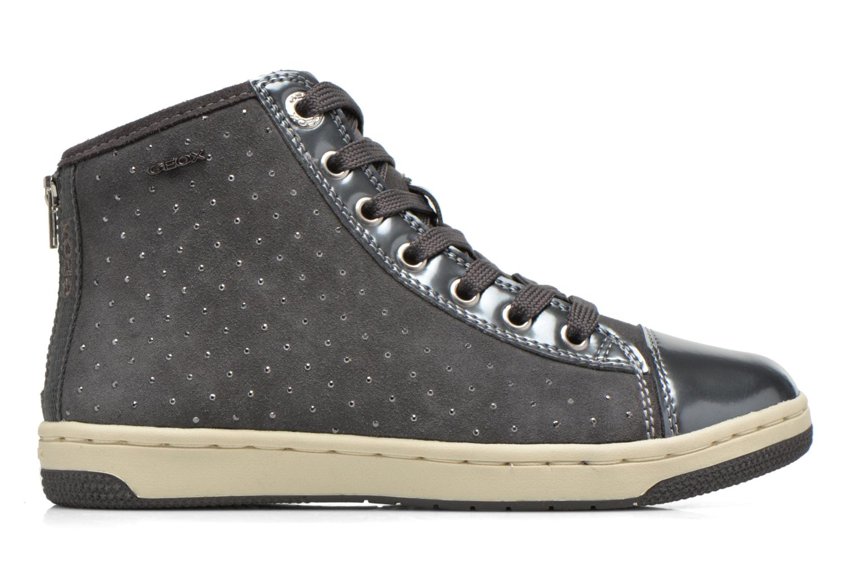 Sneaker Geox J Creamy A J64L5A grau ansicht von hinten
