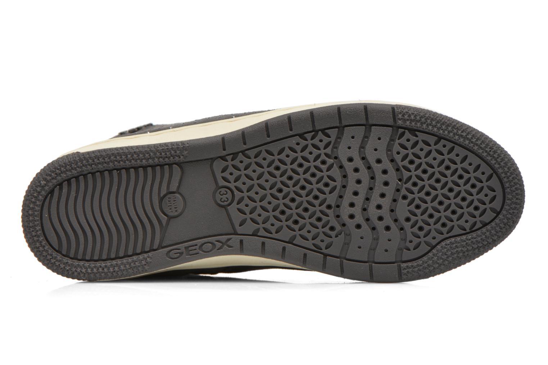 Sneaker Geox J Creamy A J64L5A grau ansicht von oben