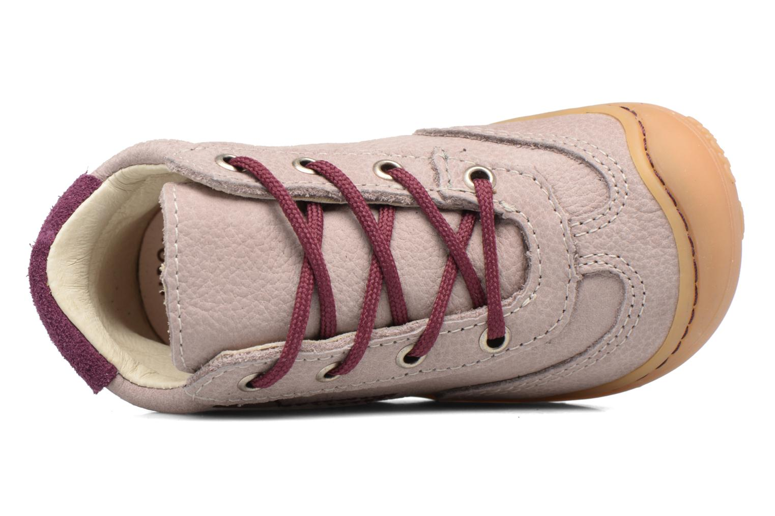 Trainers PEPINO Sami Pink view from the left