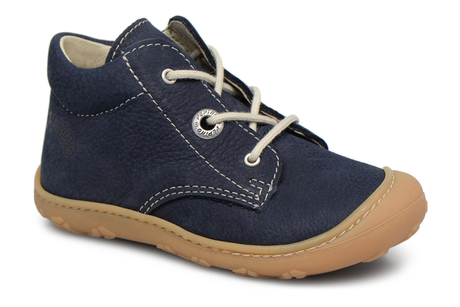 Ankle boots PEPINO Cory Blue detailed view/ Pair view